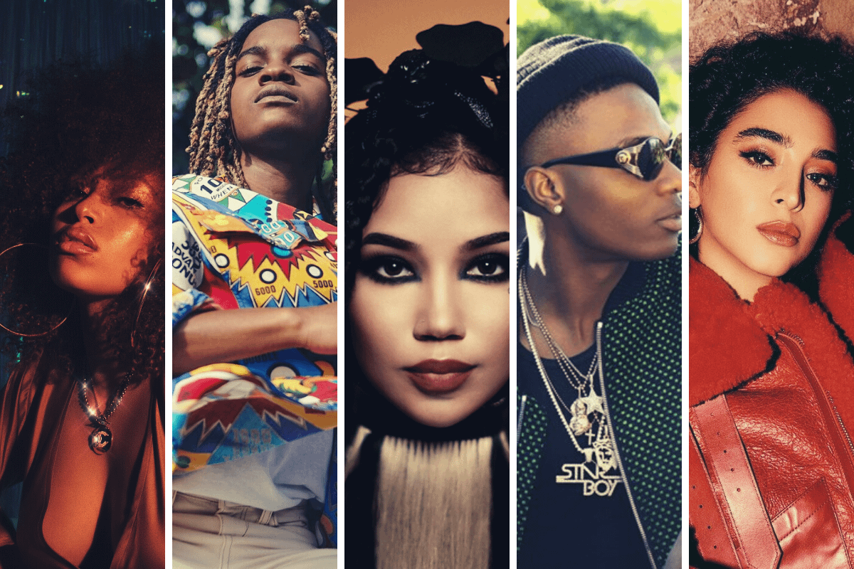 Wizkid and H.E.R make us 'Smile' as the music world reels from Megan Thee Stallion shooting