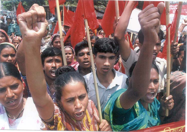 International Worker's Day marks six years of struggle by garment workers in Bangladesh