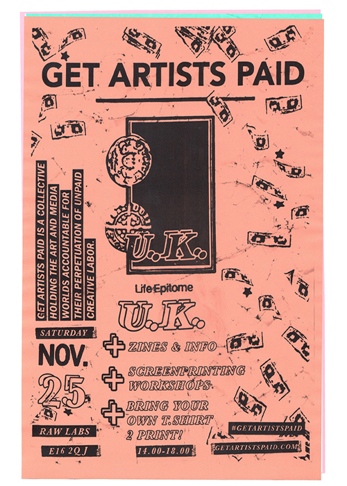 GET ARTISTS PAID