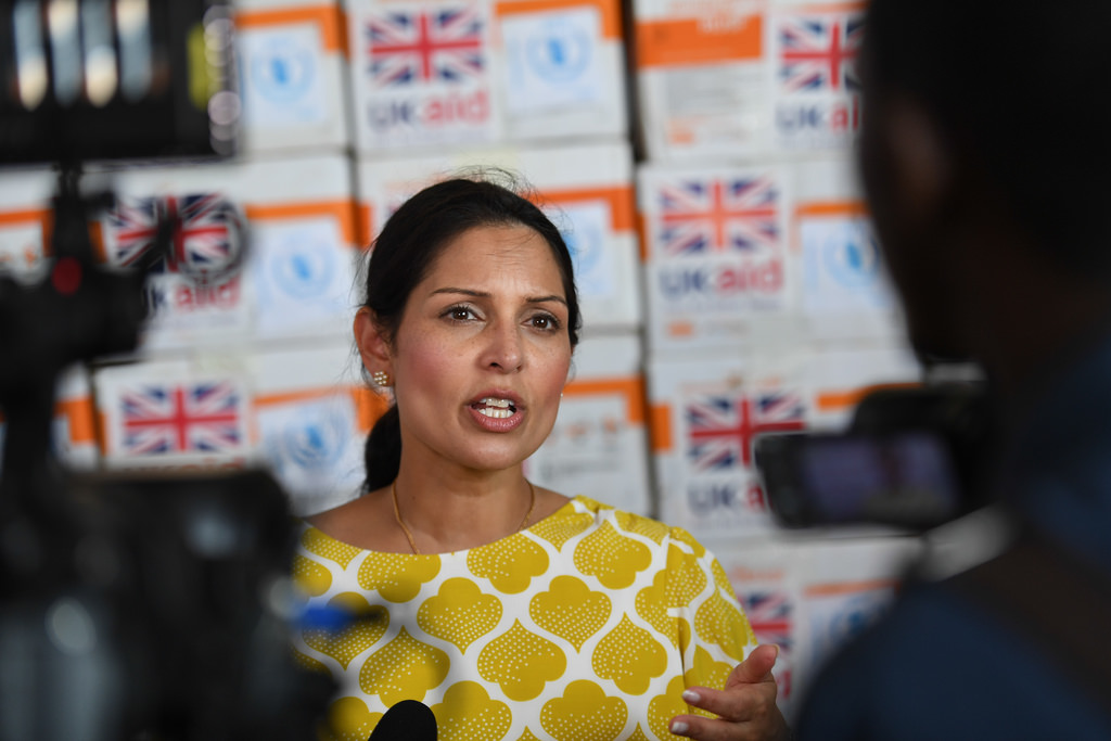 Drag Priti Patel for her trash politics, not for being a 'diversity hire'