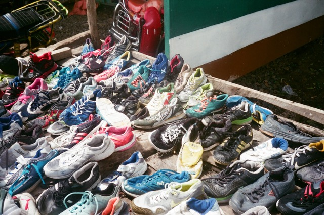 Nike trainers for £2: exploring Kenya's second-hand clothes markets