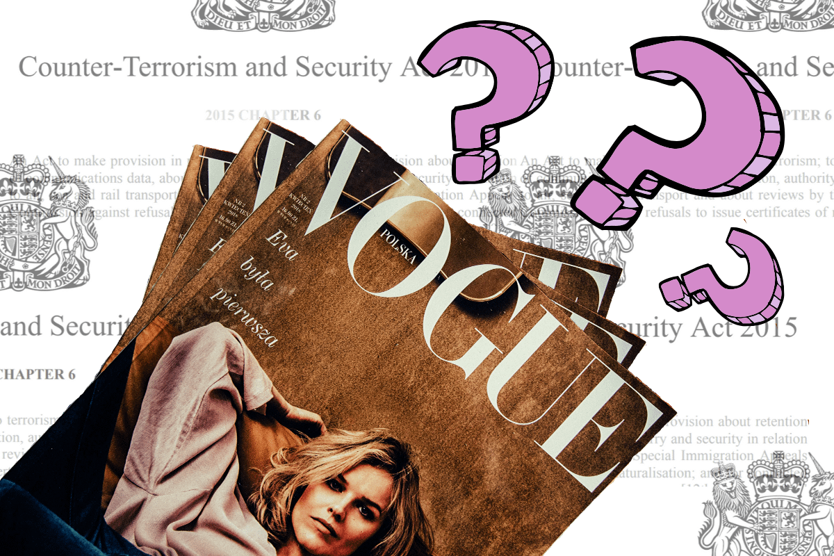 Why is Vogue glamourising the War on Terror?