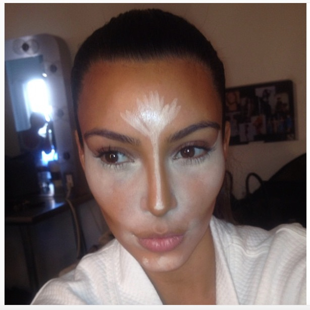 Is make-up contouring skin-lightening in disguise?