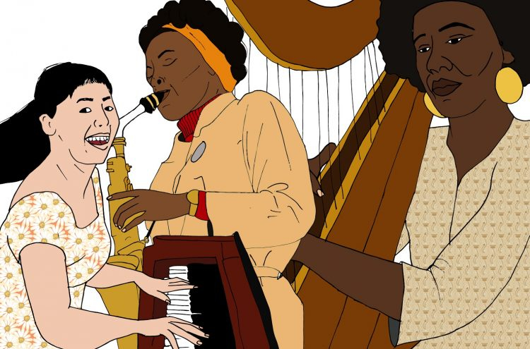 Women in jazz who have made a historical mark on the scene
