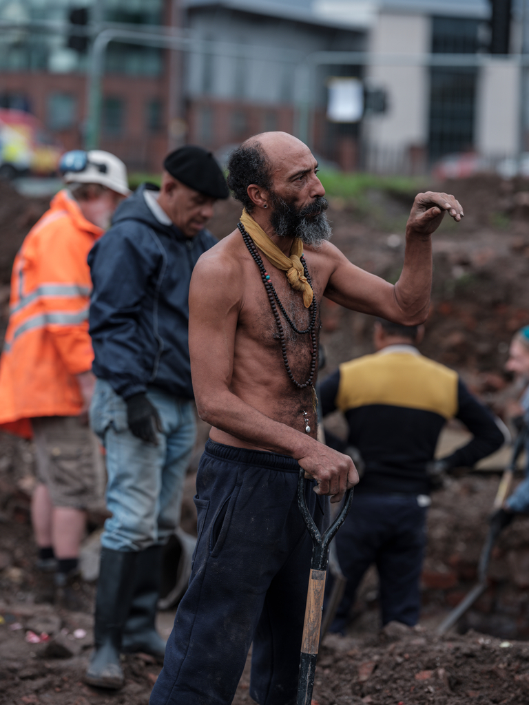 A former Reno regular who helped dig up the remains of the club