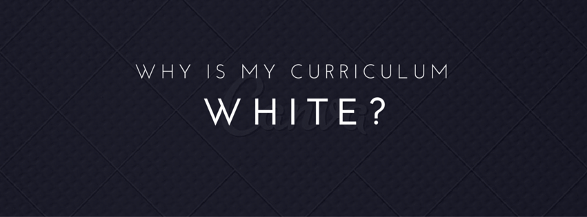 Tokenism in teaching: why is my curriculum white?