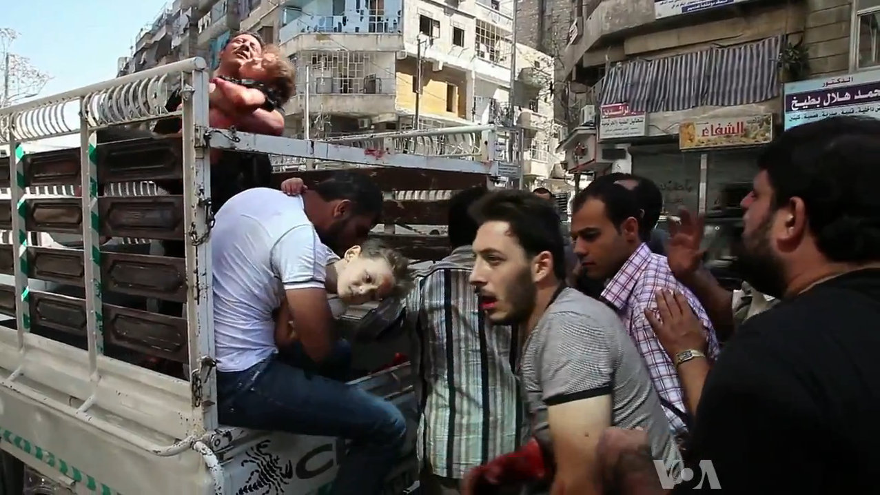 Aleppo and the world's ability to stay silent during a crisis