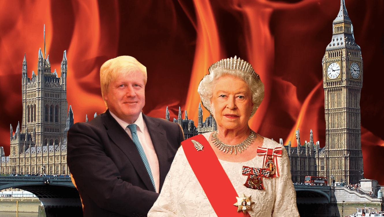The UK is now officially a trashfire –RIP democracy