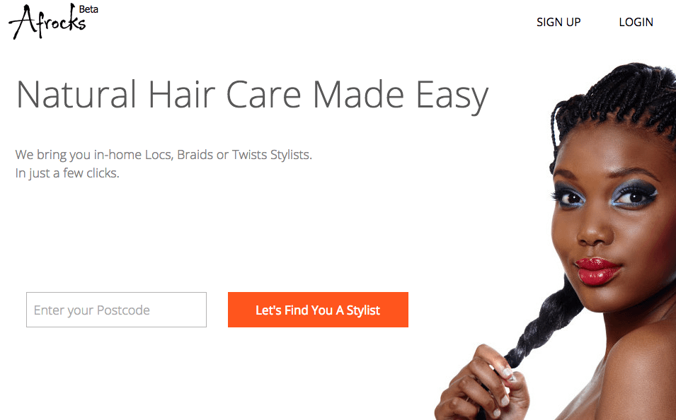 Afrocks: the on-demand in-home service for afro hair