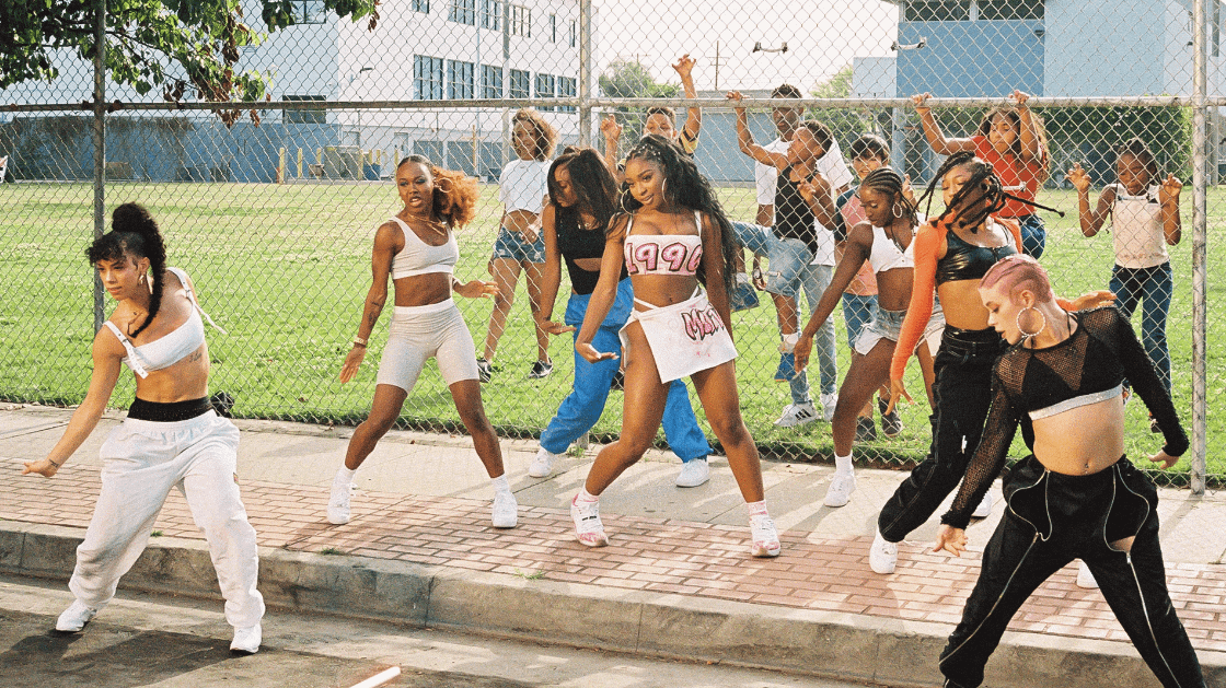Five on it: Normani's throwing it back to the old school
