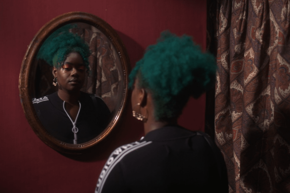 Watch black and queer people come face-to-face with their own beauty