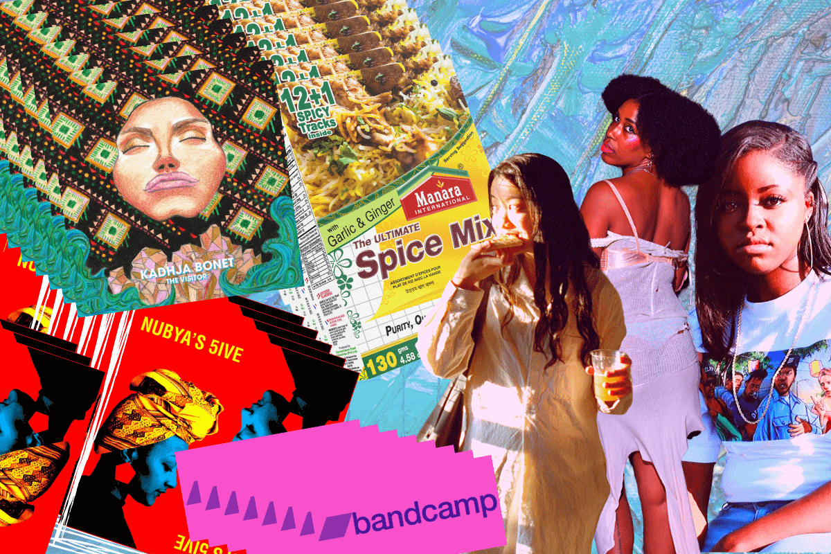 Five on it: a 'support artists and DJs on Bandcamp' special