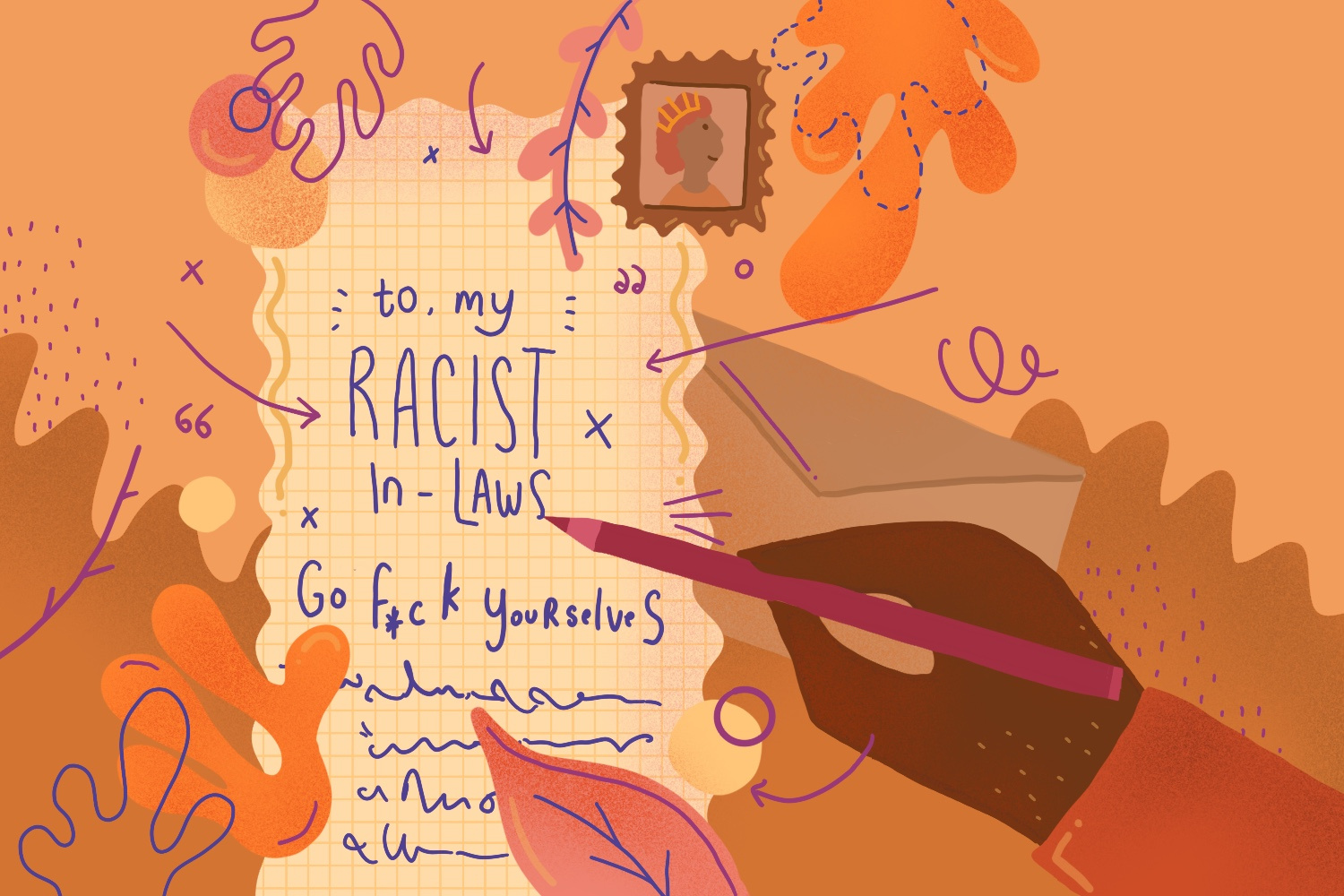A letter to my racist in-laws