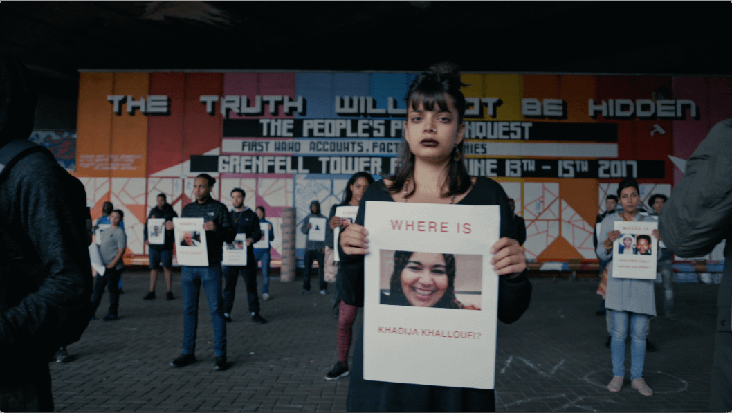 Lowkey urges us not to forget about Grenfell with powerful visual