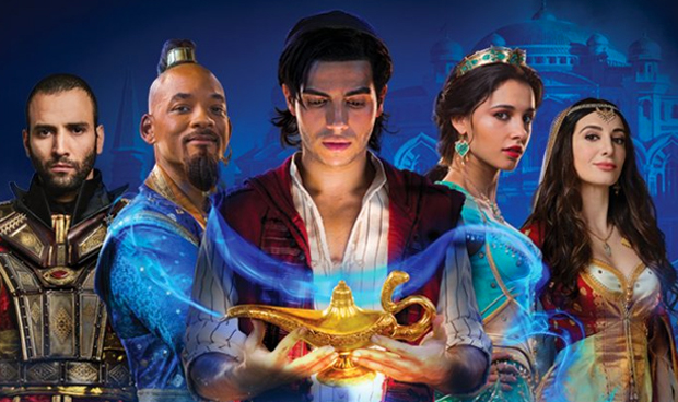 The new Aladdin film is shot in Surrey, but that's the least of its problems