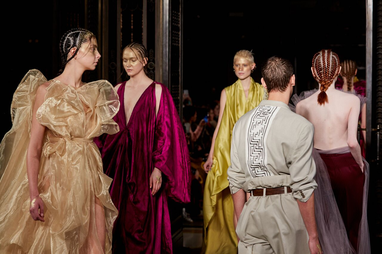LFW: appropriative styling lets down Fashion For Conservation A/W18