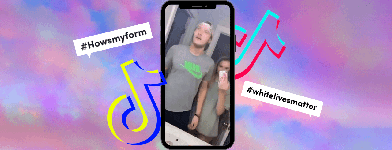 How racism became a hot trend for TikTok's teens