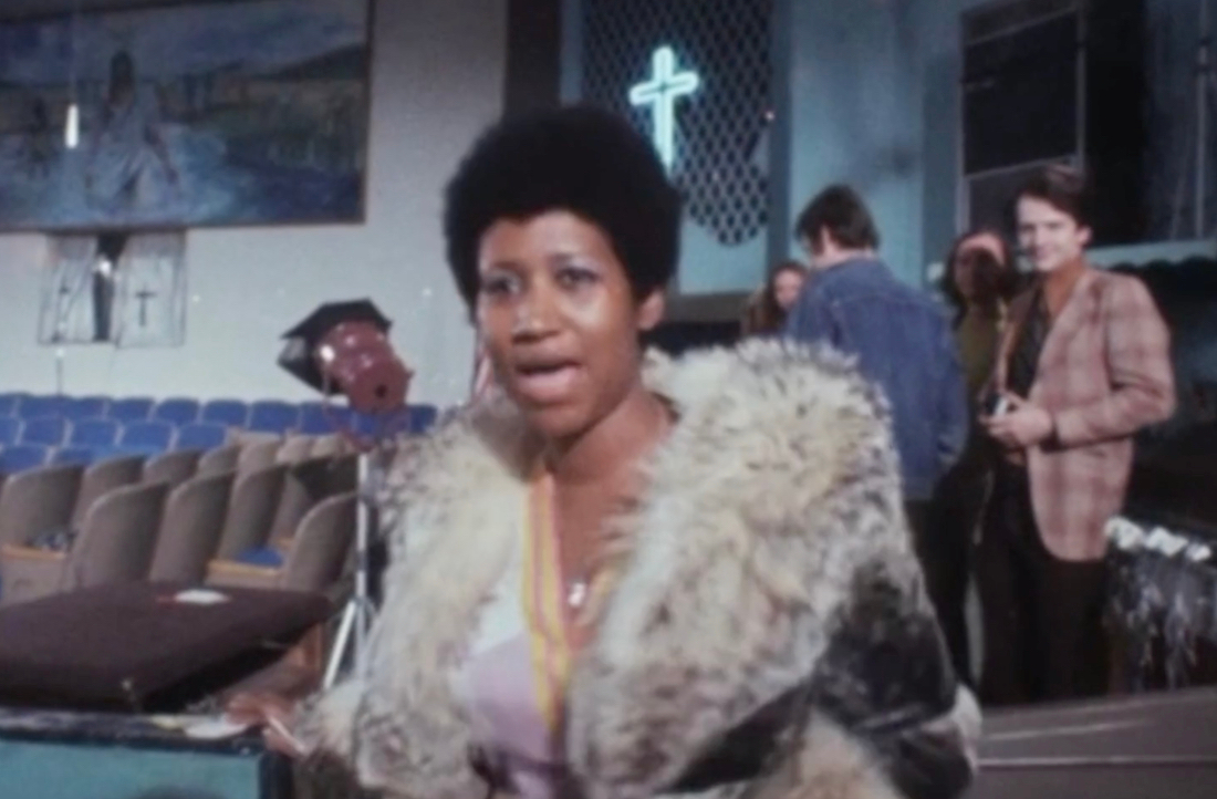 The director of 'Amazing Grace' remortgaged his house so you could see this lost Aretha Franklin performance