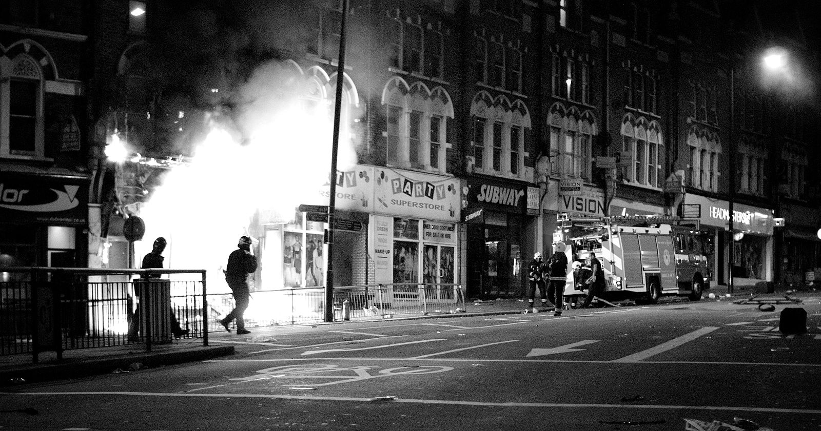 10 years on from the London riots – how much has police violence changed in Britain?