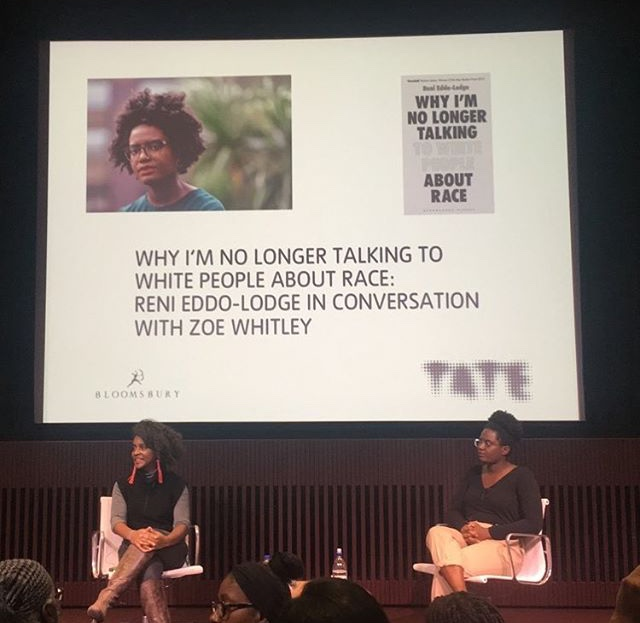 Tate should apologise for its racist mishandling of author Reni Eddo-Lodge's talk