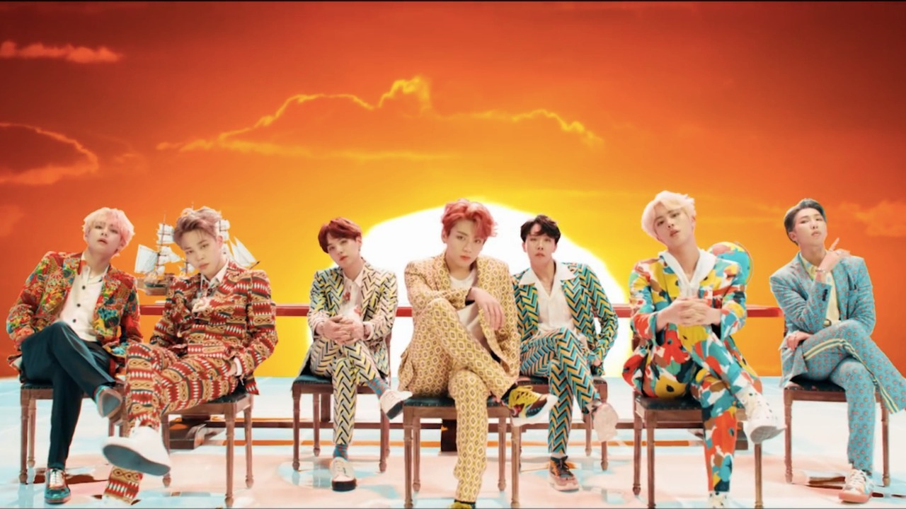Is BTS' success proof that the United States' hold on media is coming to an end?