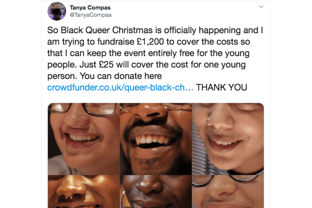 This week Tory lies pile up while one woman launches a heartwarming campaign for a Queer Black Christmas