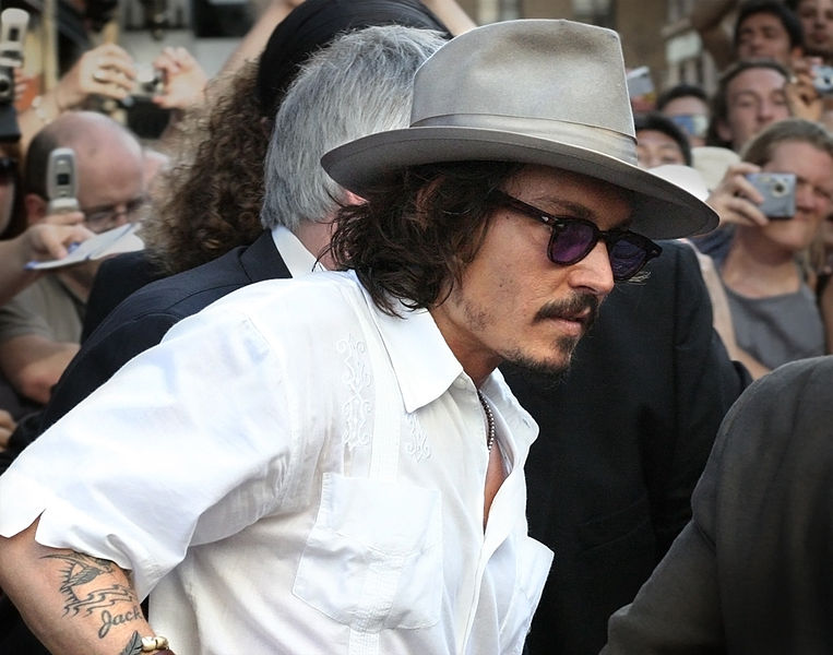 Johnny Depp: not buried, just a deadweight for progress