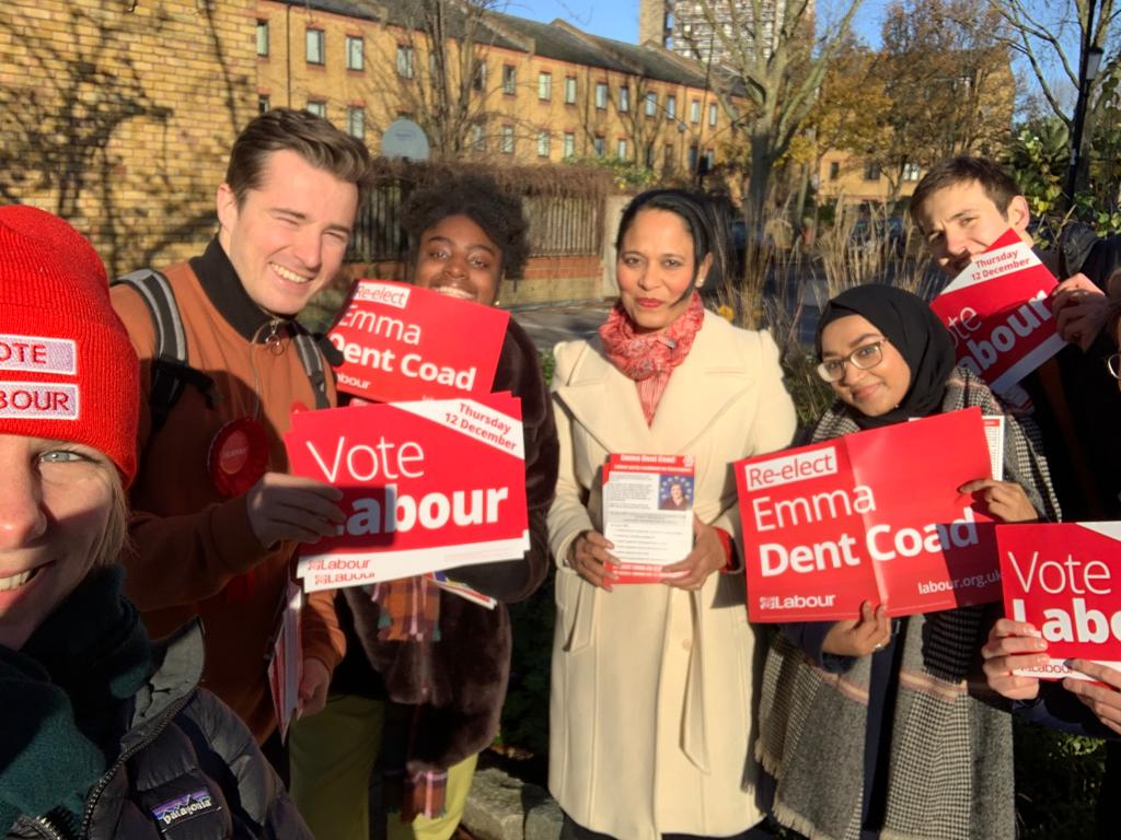 It's not too late to go out and canvass –we have two days left to save the country