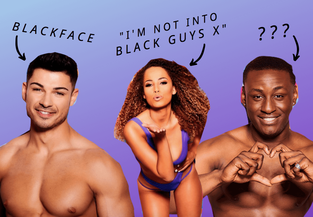 Why doesn't racism get contestants kicked off Love Island?