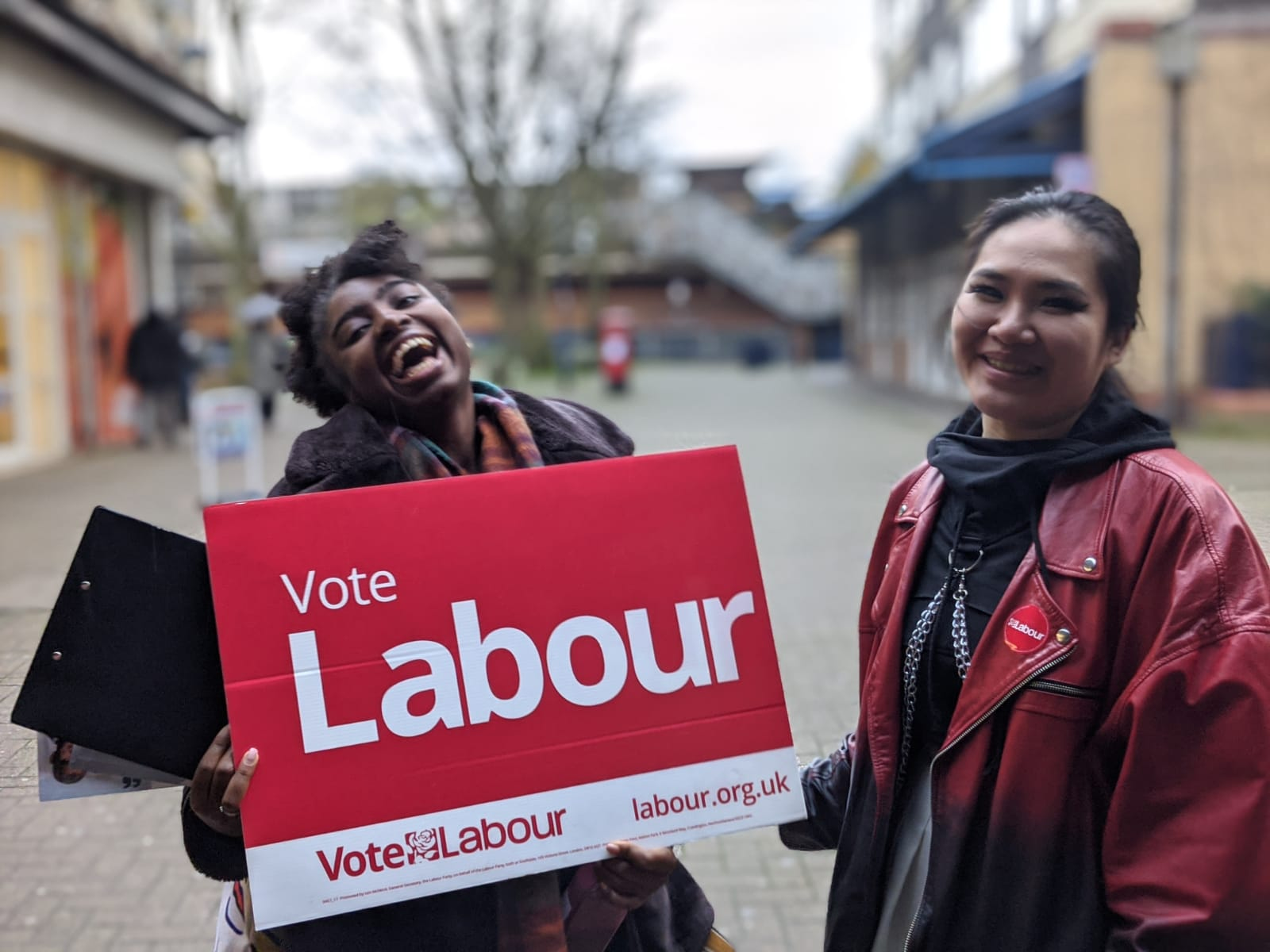 Why women of colour should go canvassing