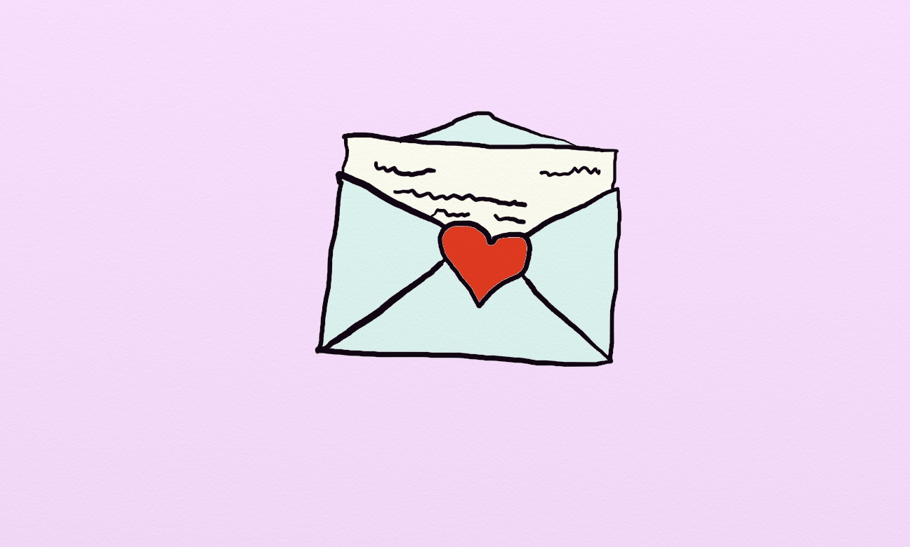 A thank you letter from your depressed friend