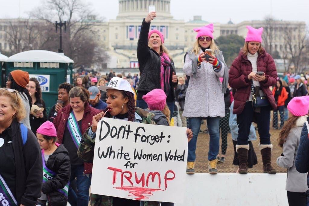Women's march and the selective memory of mainstream feminism