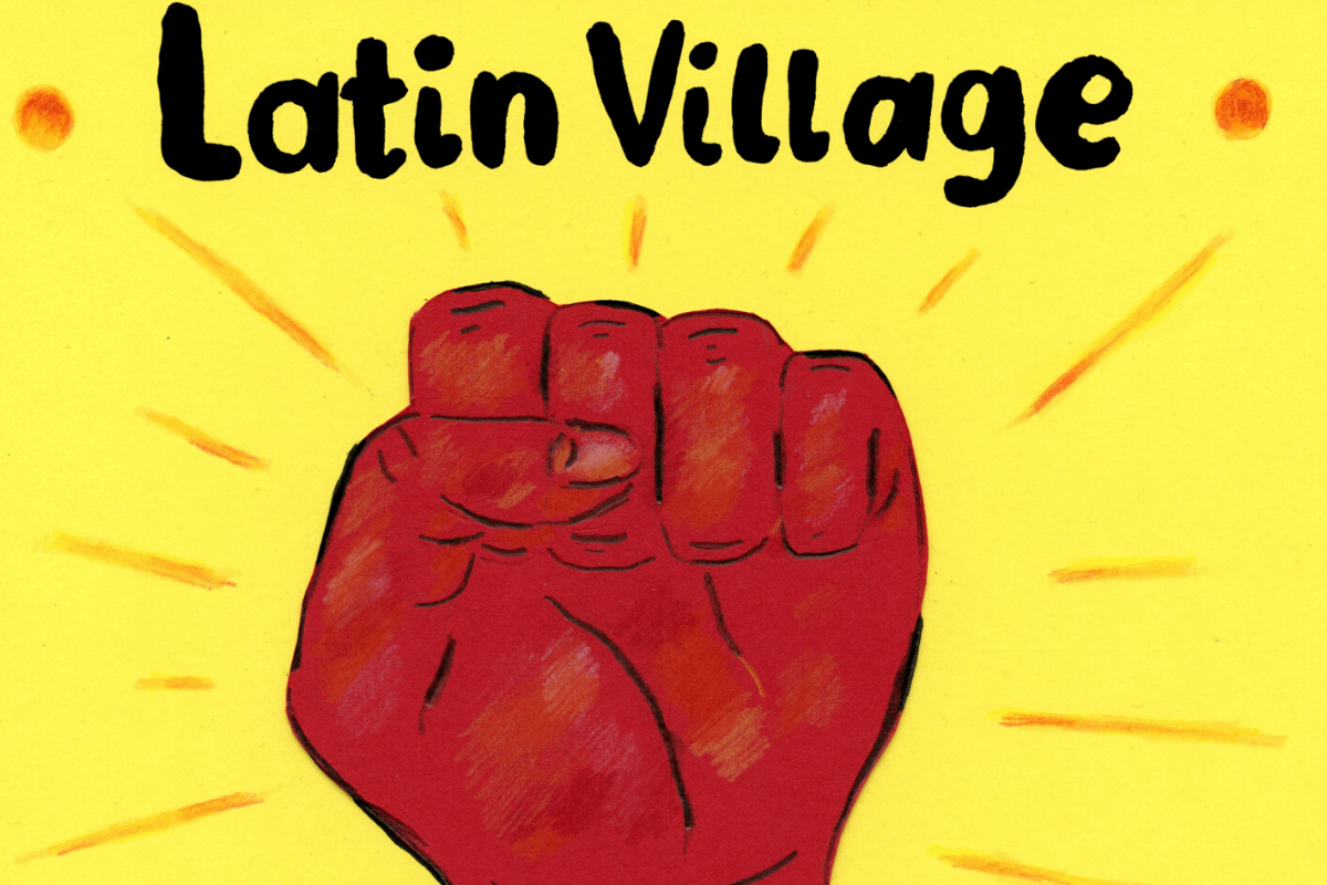 The fight to Save Latin Village has reached David and Goliath heights