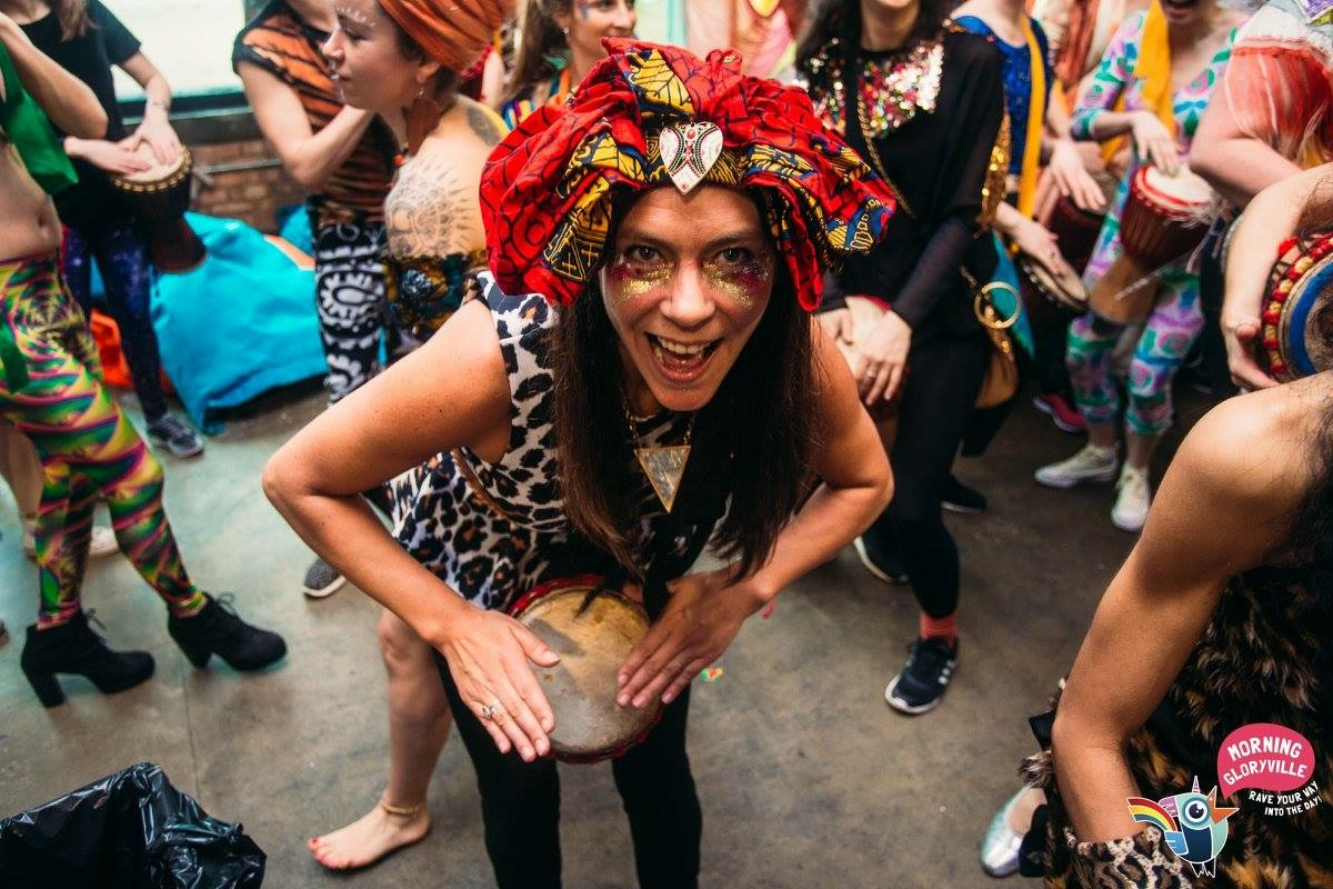 Morning Gloryville: the morning rave indulging in cultural appropriation