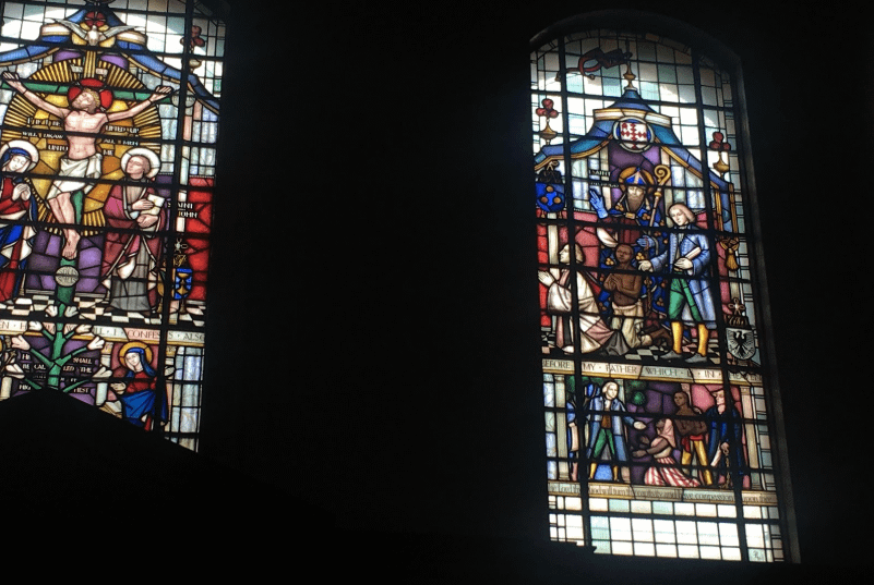 How a stained glass window in Clapham led me to the Krio people of Sierra Leone