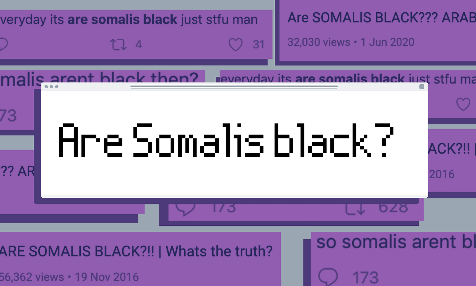 We need to unpack the damaging 'Are Somalis black?' rhetoric