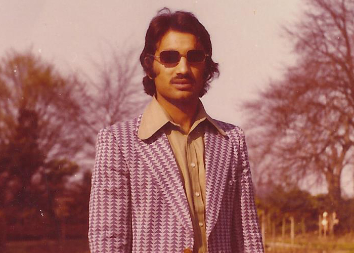 Fashion Throwback Thursdays: Halimah's dad's groovy garms