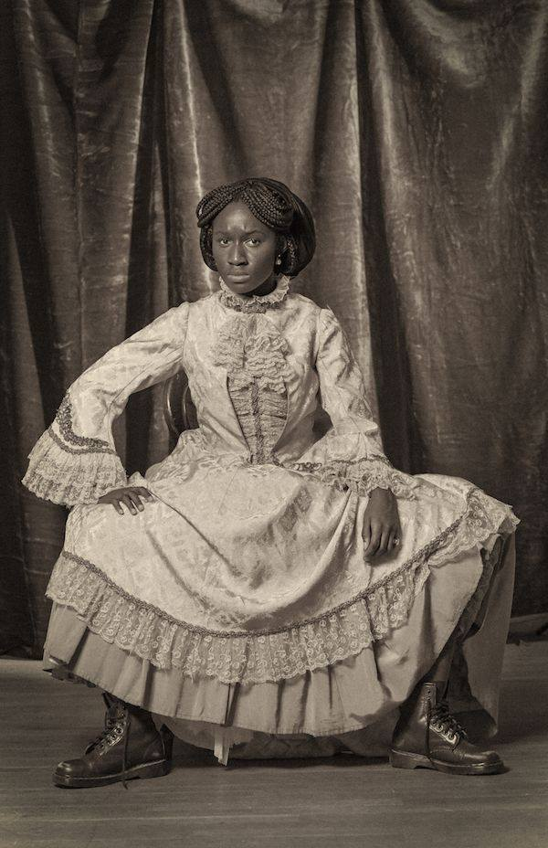 Artist spotlight: Heather Agyepong shines a light on Victorian black women