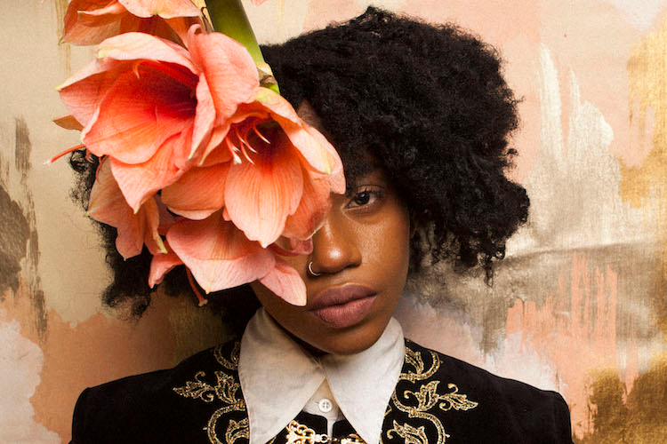 Denai Moore on 'Trickle' visual: 'it represents the unexpected nature of anxiety'